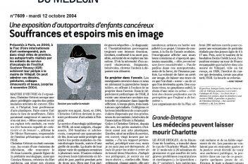 Quotidien du Médecin 7609 - Expo d'autoportraits d'enfants