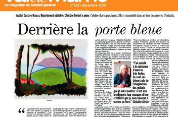 Journal Val de Marne  / Déc. 2005
