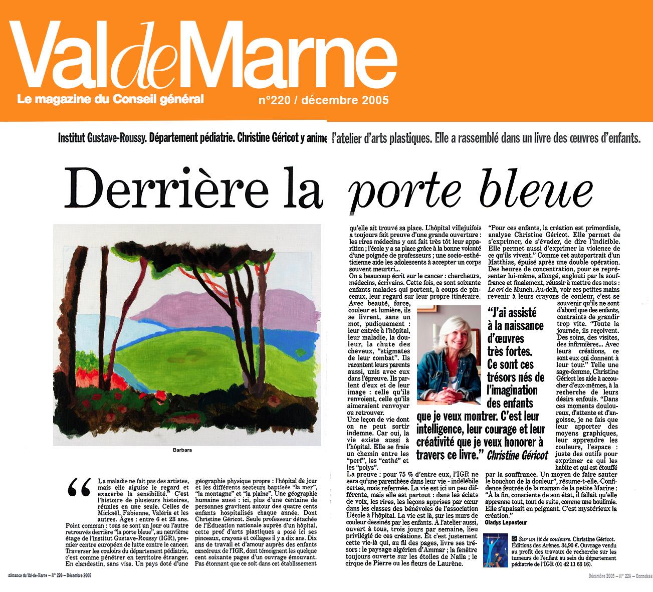Presse-05VDM94-0512-n220-DerriereLesPortesBleues