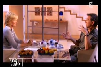 Emission TV Thé ou Café avec Bernard Giraudeau